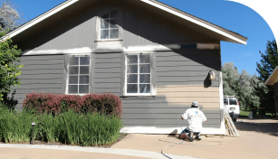 residential exterior home painting