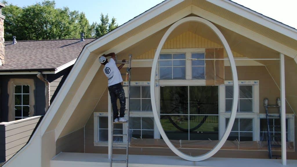 trim exterior house painters