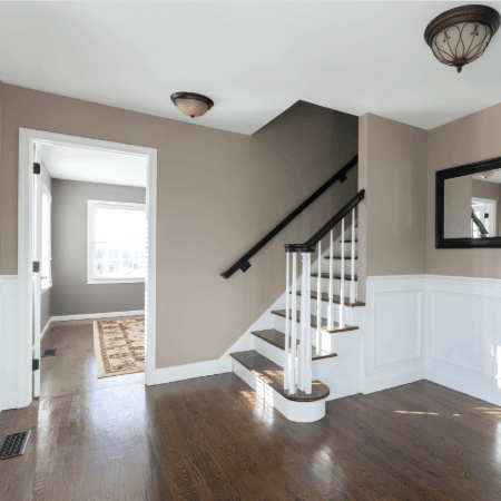 interior house painters Denver, CO entryway