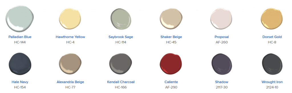 home paint colors