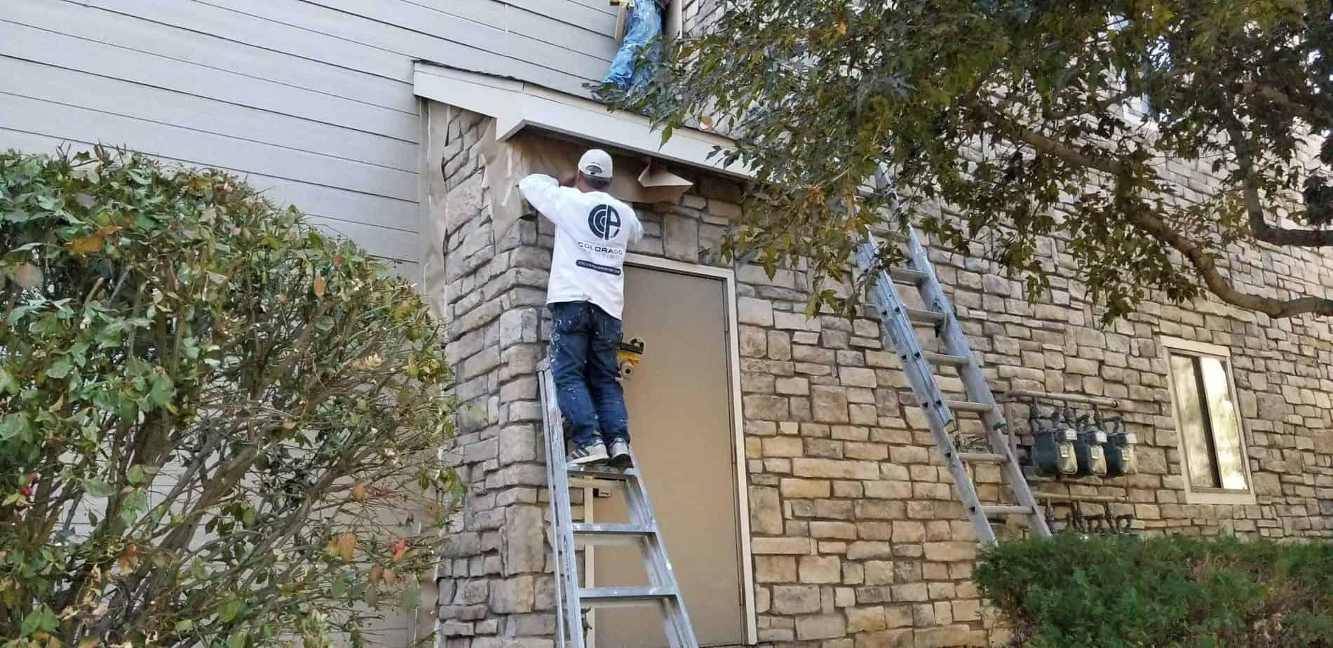 exterior commercial painting contractor
