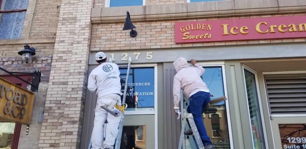 Insured commercial painters