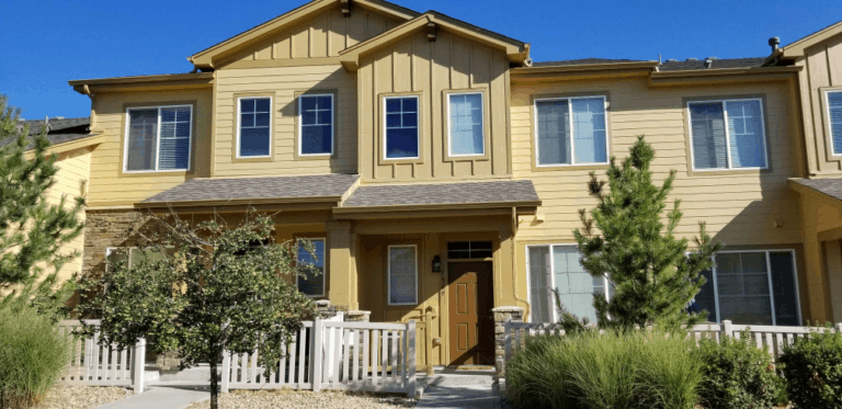 Exterior Townhome painting