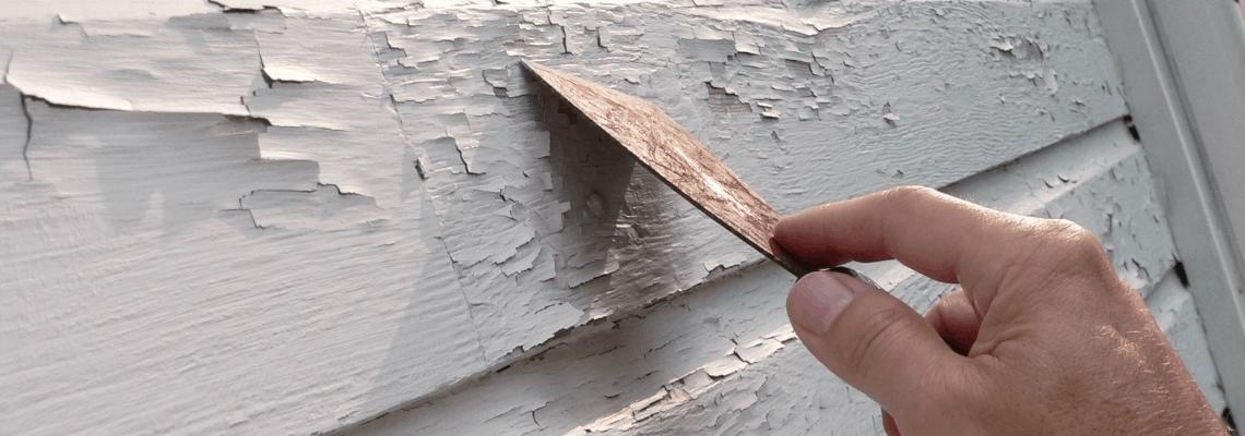 paint prep exterior house