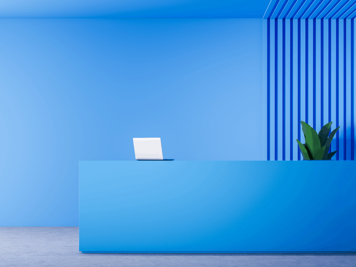 commercial office paint color ideas