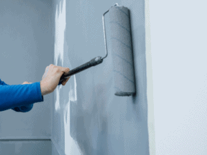 interior paint on wall