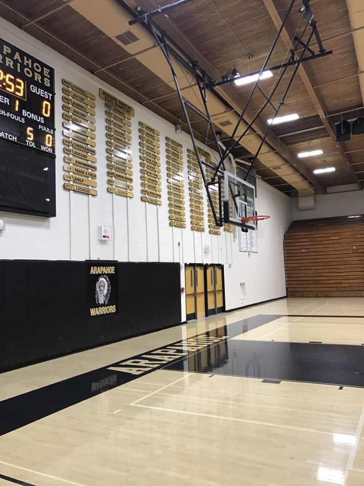 commercial painting arapahoe high school