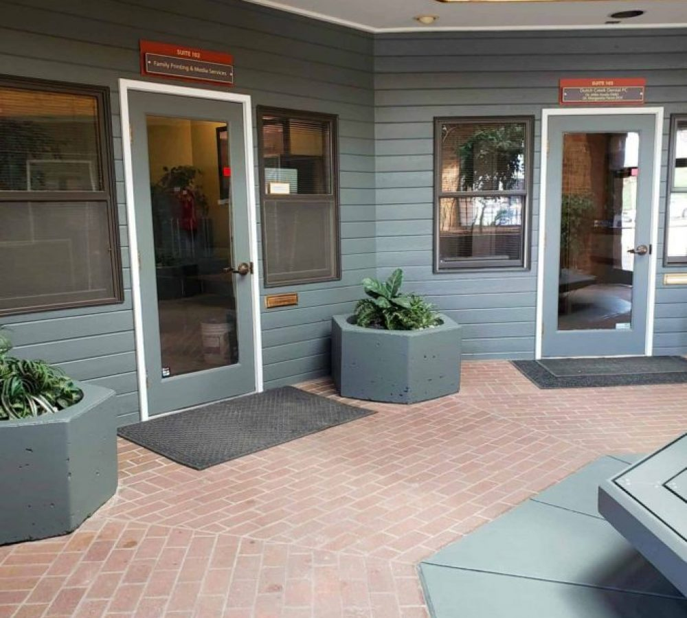exterior office commercial painting finish